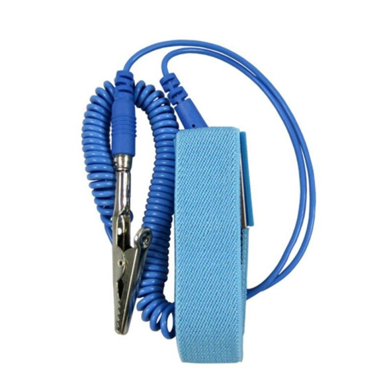 Buy Moonar Wired Clip Antistatic Anti Static ESD Wristband Wrist Strap Discharge Cables for Electrician IC PLCC worker Malaysia