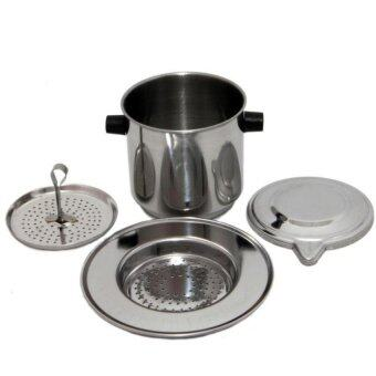 Harga Moonbuck Vietnamese Traditional Coffee Filter Drip Brew Coffee PhinFilter Coffee Infuser [Stainless Steel] + Free Sample