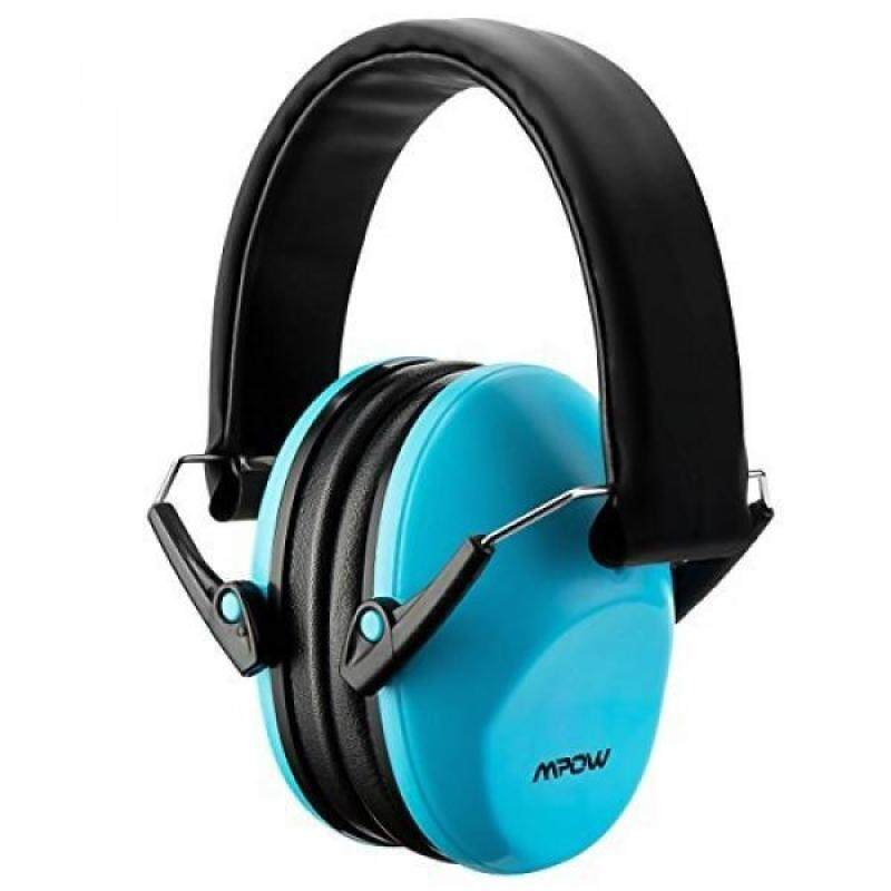 Mpow Kids Safety Ear Muffs, NRR 25dB Professional Noise Reduction Shooter Hearing Protection, Ear Defenders for Shooting Range Hunting for Children, Infants, Small Adults, Women (Blue)