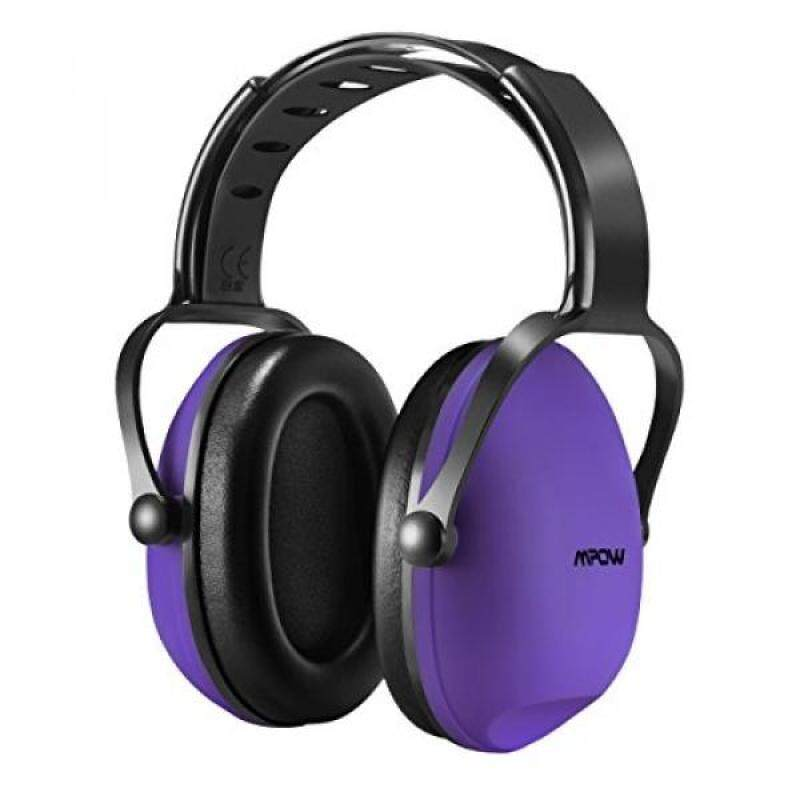Mpow Kids Safety Noise Reduction Ear muffs, Adjustable and Soft Headband Safety Ear Muffs for Shooting Hunting, Ear Defenders Headphone for Children, Infants, Small Adults with Twist Resistant Handban