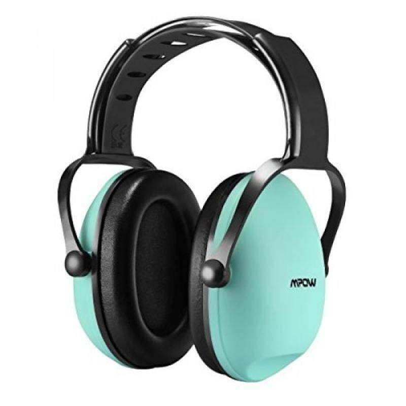 Mpow Kids Safety Noise Reduction Earmuffs, Adjustable Children Noise Reduction Ear Muffs for Shooting Hunting, Junior Ear Defenders for Children, Infants, Small Adults (Tiffany Blue)