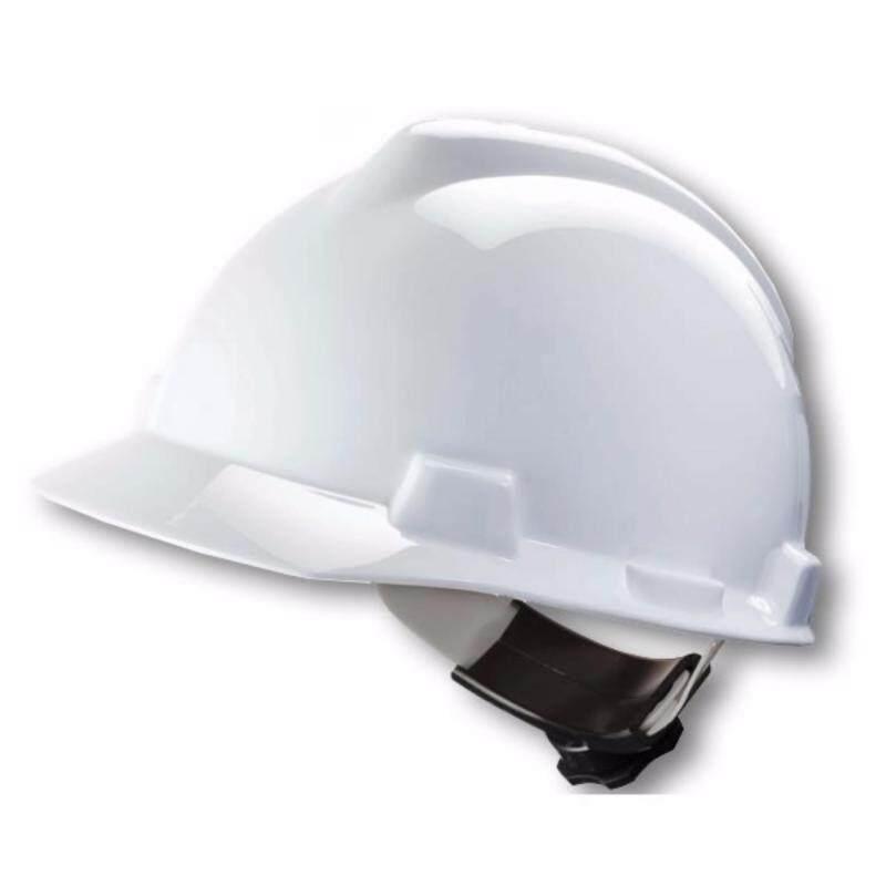Buy MSA HELMET V-GARD PROTECTIVE CAP W/RATCHET HARDNESS (ORIGINAL USA) Malaysia