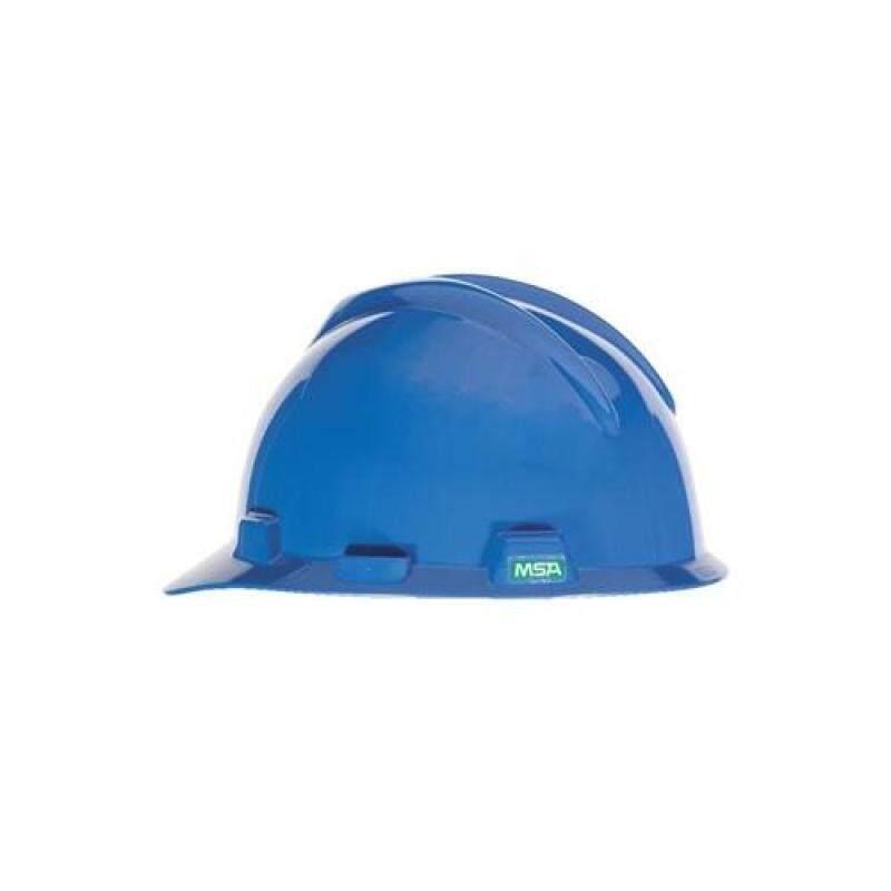 MSA V-Gard Cap. Blue. Fastrac Suspension (HDPE)