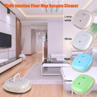 Multi-function USB Rechargeable Smart Cleaning Machine HouseholdFloor Sweeping Mop Robot Green - 4