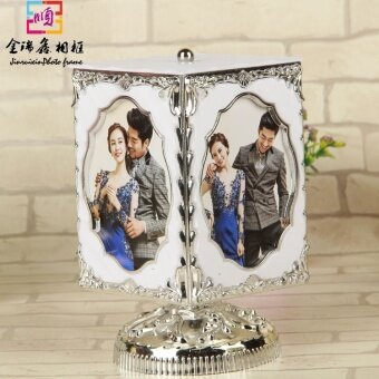 Music Box couple's Photo Frame Music Box