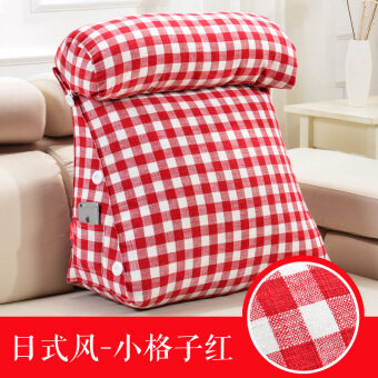 Music is still excellent product japanese cotton triangle bedside big back sofa pillow office neck pillow cushion