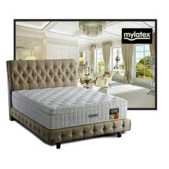 MyLatex Elegant 4 Inches Semi-Firm 100% Natural Latex Chiropractic Spring Mattress (10 Years Warranty) Pre Order 1 Week