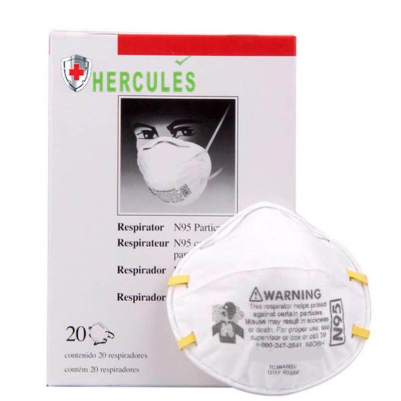 Buy N95 Anti Haze Respirator Disposable Face Mask (20Units) Malaysia
