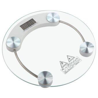 NAVITASS 33cm Large Tempered Glass Electronic Body Weighting Scale