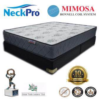 "NeckPro 10"" Queen Bonnell Spring Mattress (Mimosa)"