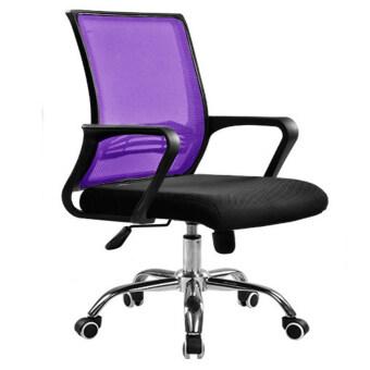 New Design Swanky Medium Swivel Office Chair Purple Lazada