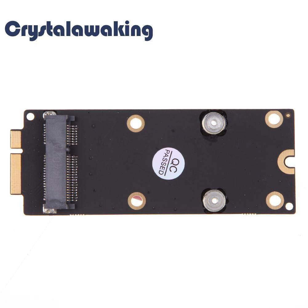 HUA SI HAI- New Lightweight mSATA to 18 Plus 8 Pin SSD Adapter for MacBook