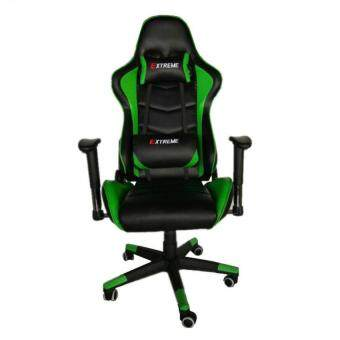 new luxury edition extreme gaming office swivel chair green