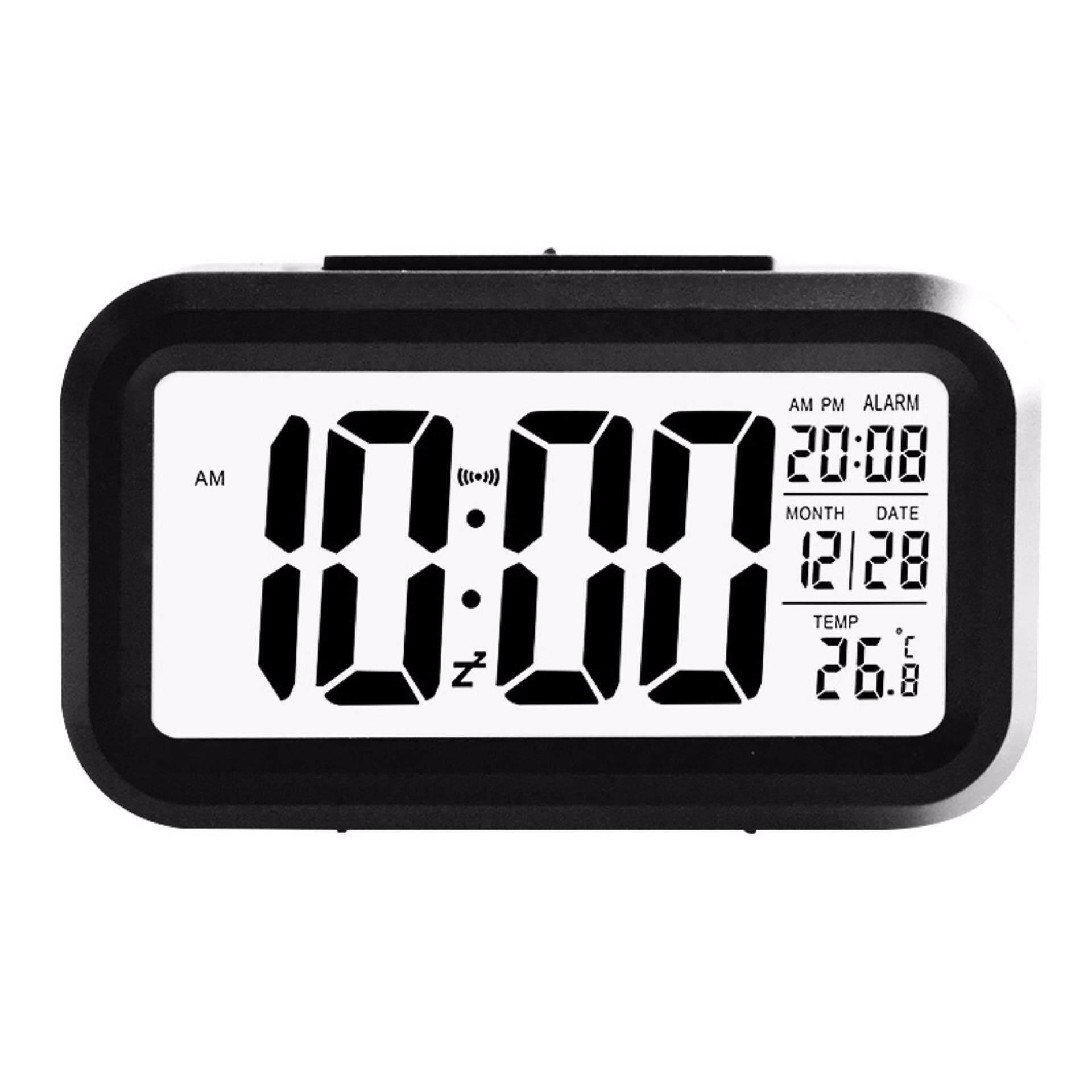 Beautiy Kota Baru Moderen Besar-Tampilan Digital Alarm Jam LED dengan Kalender Elektronik Meja Meja Jam-Internasional