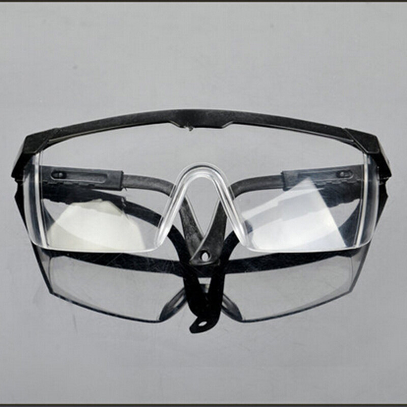 Buy New Safety Eye Protection Clear Lens Goggles Glasses From Lab Dust Paint Lab Black Malaysia