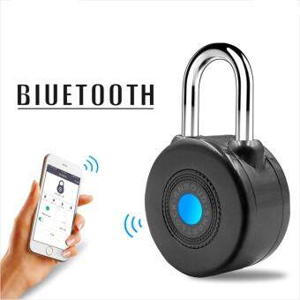 Harga Newest Bluetooth Smart Lock Anti Theft Alarm Lock for CyclingMotorycle Door with APP Control