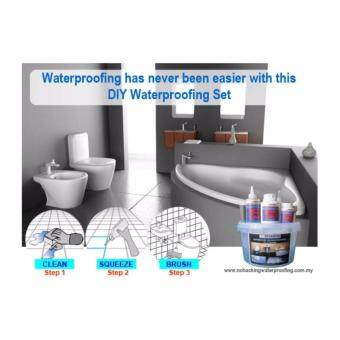 No Hacking Waterproofing Bathroom / Toilet / Balcony DIY Set (S) - 2