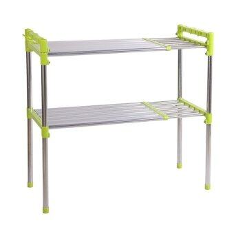 Nuevo Stainless Steel Multipurpose Oven Storage Rack ( Green)