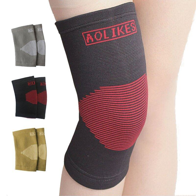 Buy Nylon Knee Pads for Volleyball Elastic Breathable Basketball Kneepads Sports Knee Support Brace Malaysia