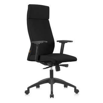 "OFFICE CHAIR \""LAZ\"" Modern Ergonomic High Back Executive Computer Desk Task Office Chair (BLACK)"