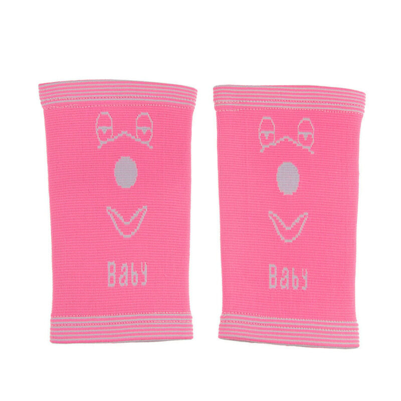 Buy One Pair Bright Cute Cartoon Print Knee Sleeves Knee Warmer Pad Knee Support for Kids Children Juniors 3-15 Year, for Sports GYM Cycling Climbing Dancing Basketball Middle Pink Malaysia