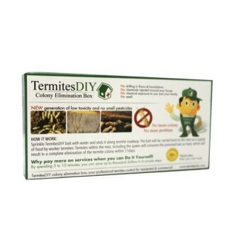 Harga Original Termites DIY Colony Elimination Baiting Box (1box)