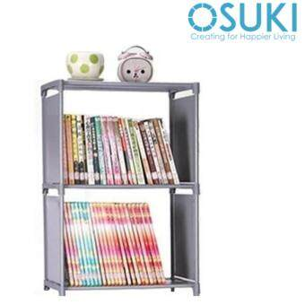 Harga OSUKI Japan DIY Book Shelf Storage (Grey)