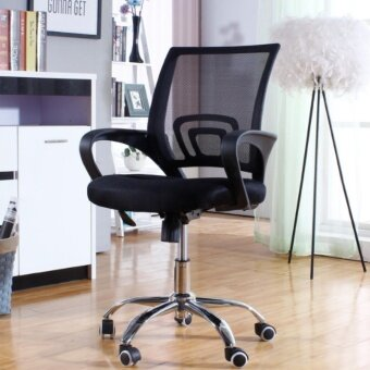 Harga OSUKI Japan Quality Mesh Office Chair (Black)