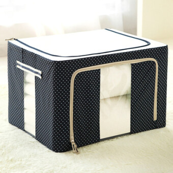 Harga Oxford Cloth Japanese-style extra large storage box underwear storage box organizing box