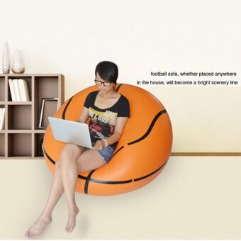 Harga PAlight Inflatable Lazy Sofa Bean Bag Chairs Bedroom Furniture(Basketball)