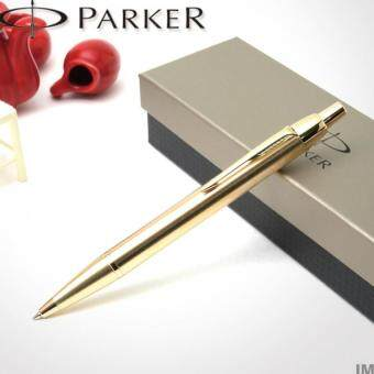 Harga Parker IM Gold Gold Trim Retractable Ballpoint Pen