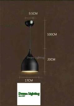 Pendant Light Dream Lighting Black - 2