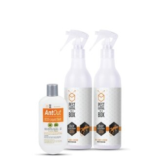 Pest Control In a Box Eco Lizard Repellent Spray and Ant Control Kit - Combo Deal