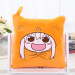 Pillow quilt dual student car cartoon blanket