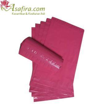 Plastic Courier Bag/ Plastic Flyer with Pocket (Pink) - 50pcs