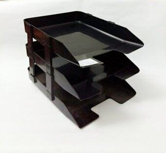 Harga Plastic Desk Document Tray -? 3 Tier (Item No: DESK O)