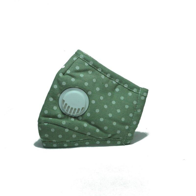 Buy PM 2.5 Adult Face Mask with Filters (Ventilation Valve Type) - GREEN DOTS Malaysia