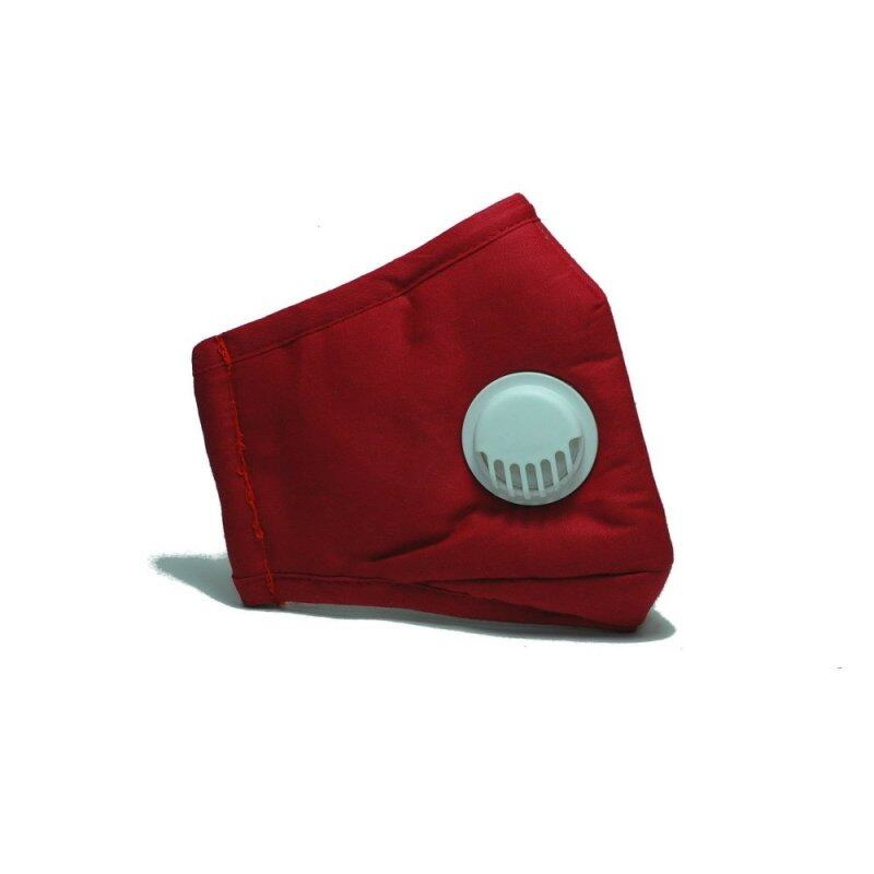 Buy PM 2.5 Adult Face Mask with Filters (Ventilation Valve Type) - RED Malaysia