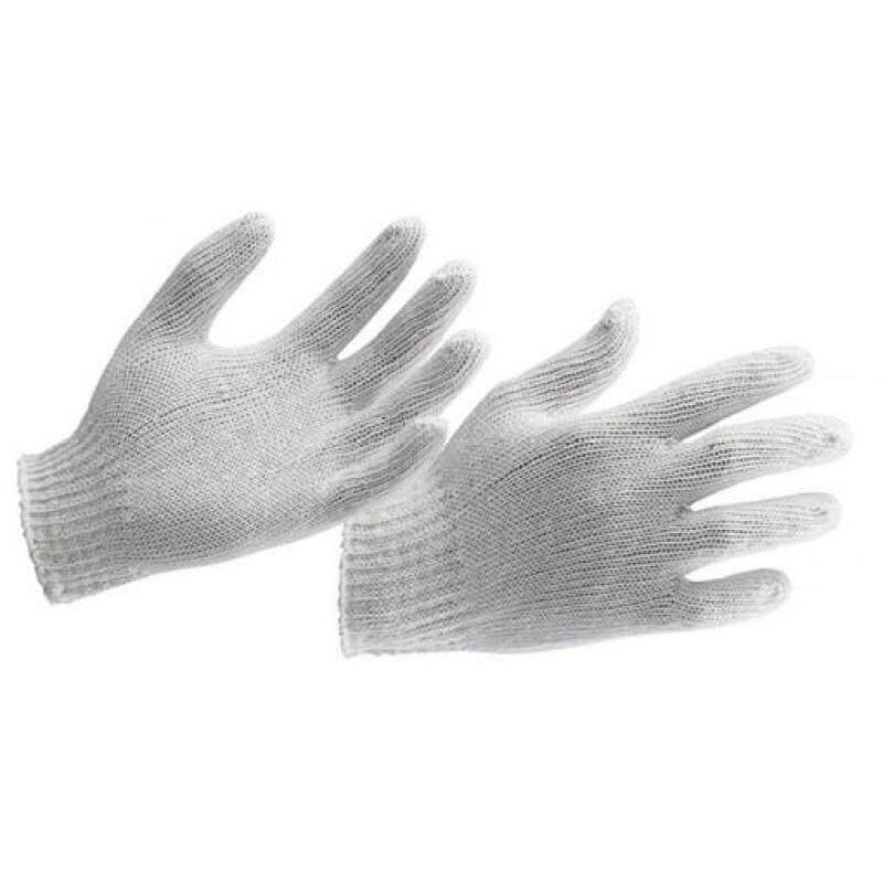 POLY COTTON KNITTED GLOVE