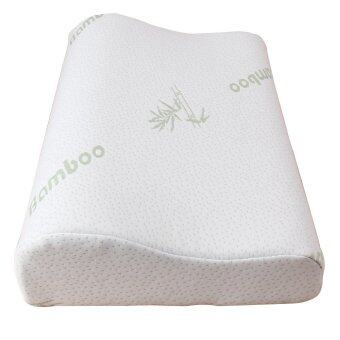 polyester fiber memory foam pillow bamboo fiber