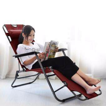 Harga Portable Chaise Lounge Super Lazy Chair