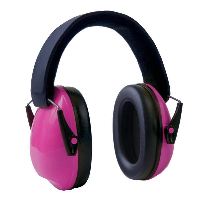 Buy Portable Kids Outdoor Noise Reduction Ear Muffs Foldable Ear Defenders with Adjustable Headband for Children Shooting Labor Protection Tactics Reading Studying Protect Hearing Pink Malaysia