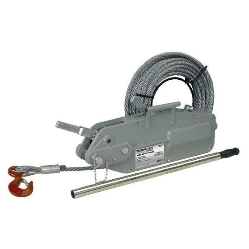 Buy (Pre-order) Sealey Wire Rope Puller 3200kg Max Line Force Model: WRP3200 Malaysia