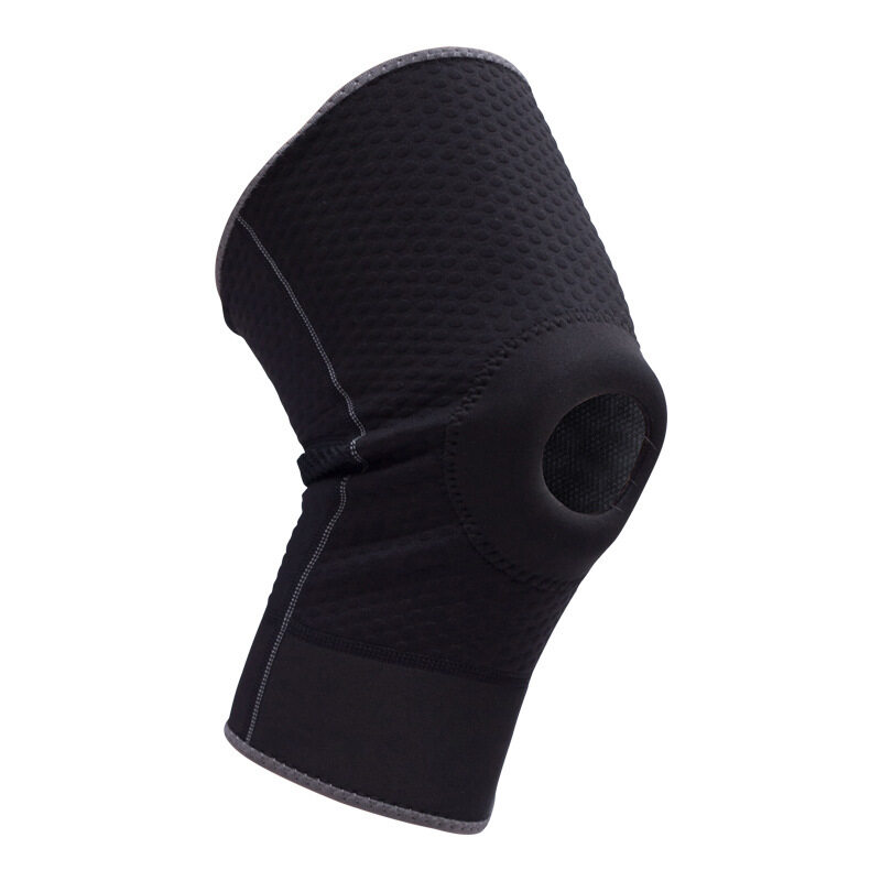 Professional features perforated collision basketball knee sweat sweat sports knee protectors (Size: XL) A11YDHJ0703