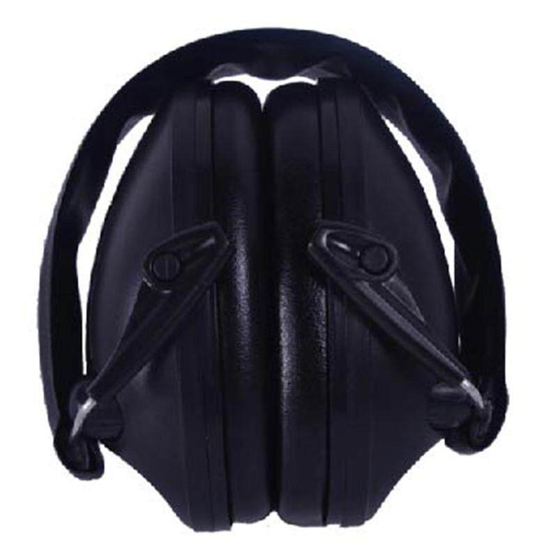 Professional Shockproof Ear Protection Muffs for Sport Sound Black TB11-004