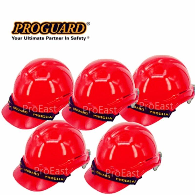 Buy Proguard 5 unit HG1-PHSL Advantage Safety Helmet RED (Sirim Certified) Malaysia