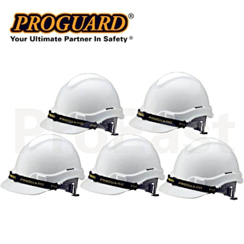 Buy Proguard 5 UNIT HG1-PHSL Advantage Safety Helmet white (Sirim Certified) Malaysia