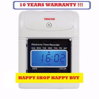 Harga PUNCH CARD MACHINE ( 10 YEARS WARRANTY ) TIME RECORDER WITH FULLSET RACK