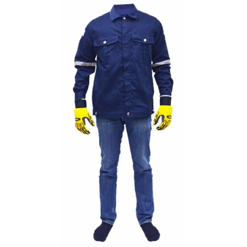 Buy QUEST Safety Reflective Workwear Jacket Navy Blue Size S Malaysia