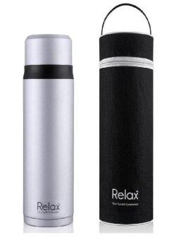Relax 750ml Stainless Steel Thermal Flask with Pouch